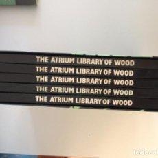 Enciclopedias de segunda mano: THE ATRIUM LIBRARY OF WOOD. 5 TOMOS. Lote 210567995