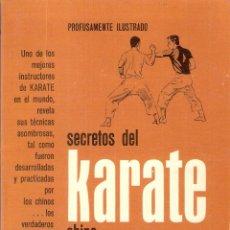 Enciclopedias de segunda mano: SECRETOS DEL KARATE CHINO - ED PARKER. Lote 210575180