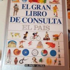 Enciclopedias de segunda mano: EL GRAN LIBRO DE CONSULTA - EL PAÍS ALTEA - COMPLETO Y SIN ENCUADERNAR. Lote 210595986