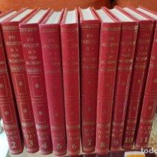 Enciclopedias de segunda mano: GRAN ENCICLOPEDIA DE LA REGIÓN VALENCIANA - 12 TOMOS - SIMIL PIEL. Lote 210596778