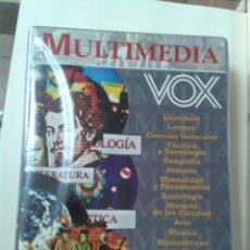 Enciclopedias de segunda mano: COLECCIÓN COMPLETA MULTIMEDIA VOX ENCICLOPEDIA 4 CD-ROM HISTORIA MATEMÁTICAS INFORMÁTICA LITERATURA. Lote 210826482