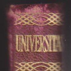Enciclopedias de segunda mano: UNIVERSITAS 1959. SALVAT EDITORES. Lote 210959585