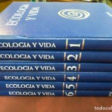 Enciclopedias de segunda mano: ENCICLOPEDIA ECOLOGIA Y VIDA 6 TOMOS - SALVAT - ENM. Lote 211274555