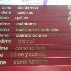 Livros em segunda mão: ENCICLOPEDIA BASICA DIME. ARGOS. 10 VOL 1983. Lote 211679898