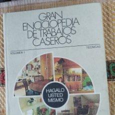 Enciclopedias de segunda mano: ENCICLOPEDIA DE LOS TRABAJOS CASEROS. Lote 211719555
