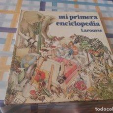 Enciclopedias de segunda mano: MI PRIMERA ENCICLOPEDIA LAROUSSE ED. QUARTO 1984 ÚNICA EN TC POSIBLE RECOGIDA EN MALLORCA. Lote 211919201