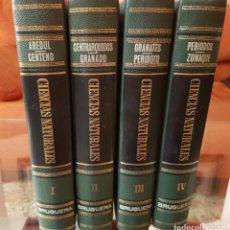 Enciclopedias de segunda mano: ENCICLOPEDIA DE CIENCIAS NATURALES - EDITORIAL BRUGUERA - COMPLETA 4 TOMOS. Lote 212164796
