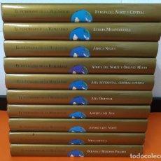 Enciclopedias de segunda mano: EL PATRIMONIO DE LA HUMANIDAD - COLECCION COMPLETA ( 10 TOMOS ) - EDILIBRO - AÑO 1996 ...L1630. Lote 212596381