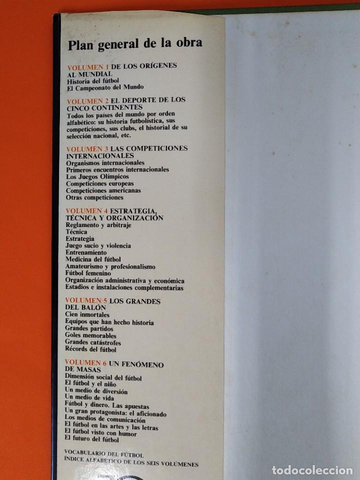 Enciclopedias de segunda mano: ENCICLOPEDIA MUNDIAL DEL FUTBOL - COMPLETA ( 6 TOMOS Y SUPLEMENTO) EDITORIAL OCÉANO,AÑO 1982..L1632 - Foto 5 - 212600222