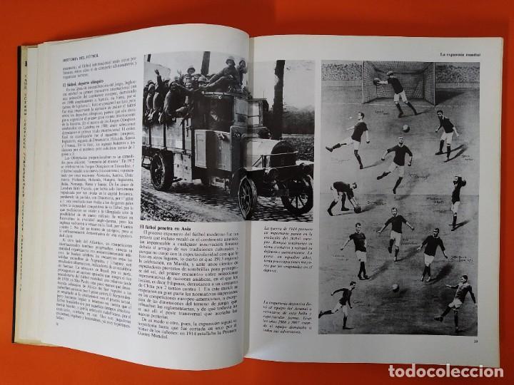 Enciclopedias de segunda mano: ENCICLOPEDIA MUNDIAL DEL FUTBOL - COMPLETA ( 6 TOMOS Y SUPLEMENTO) EDITORIAL OCÉANO,AÑO 1982..L1632 - Foto 8 - 212600222