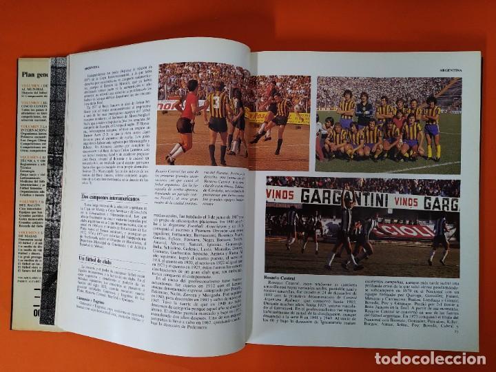 Enciclopedias de segunda mano: ENCICLOPEDIA MUNDIAL DEL FUTBOL - COMPLETA ( 6 TOMOS Y SUPLEMENTO) EDITORIAL OCÉANO,AÑO 1982..L1632 - Foto 14 - 212600222