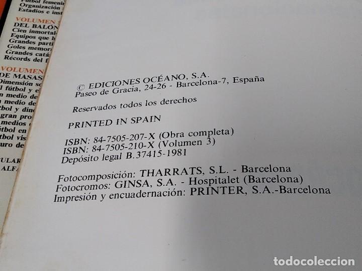 Enciclopedias de segunda mano: ENCICLOPEDIA MUNDIAL DEL FUTBOL - COMPLETA ( 6 TOMOS Y SUPLEMENTO) EDITORIAL OCÉANO,AÑO 1982..L1632 - Foto 17 - 212600222