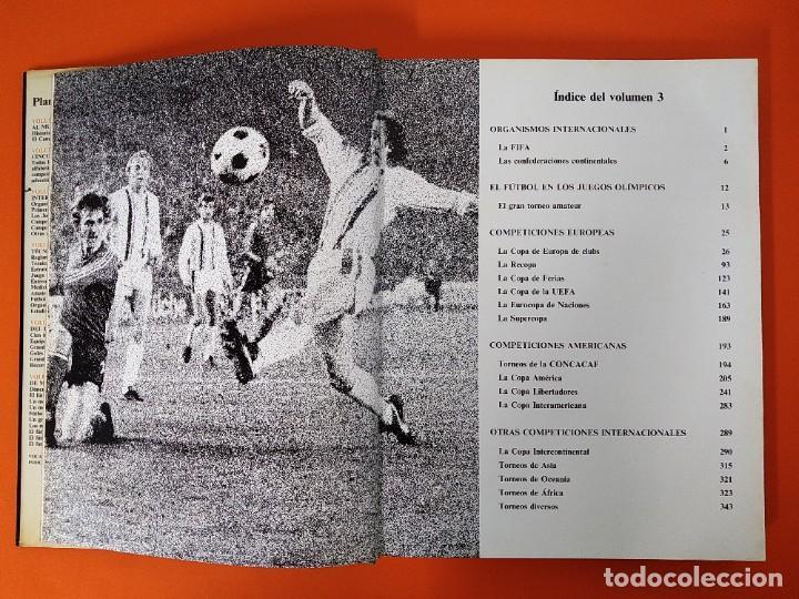 Enciclopedias de segunda mano: ENCICLOPEDIA MUNDIAL DEL FUTBOL - COMPLETA ( 6 TOMOS Y SUPLEMENTO) EDITORIAL OCÉANO,AÑO 1982..L1632 - Foto 18 - 212600222
