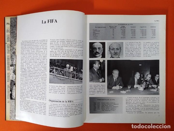 Enciclopedias de segunda mano: ENCICLOPEDIA MUNDIAL DEL FUTBOL - COMPLETA ( 6 TOMOS Y SUPLEMENTO) EDITORIAL OCÉANO,AÑO 1982..L1632 - Foto 19 - 212600222