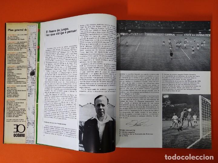 Enciclopedias de segunda mano: ENCICLOPEDIA MUNDIAL DEL FUTBOL - COMPLETA ( 6 TOMOS Y SUPLEMENTO) EDITORIAL OCÉANO,AÑO 1982..L1632 - Foto 26 - 212600222
