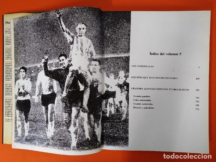 Enciclopedias de segunda mano: ENCICLOPEDIA MUNDIAL DEL FUTBOL - COMPLETA ( 6 TOMOS Y SUPLEMENTO) EDITORIAL OCÉANO,AÑO 1982..L1632 - Foto 30 - 212600222