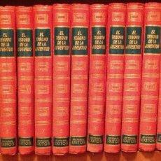 Enciclopedias de segunda mano: EL TESORO DE LA JUVENTUD. ENCICLOPEDIA DE CONOCIMIENTOS. 1958. 17 TOMOS.. Lote 212732171