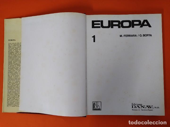 Enciclopedias de segunda mano: ENCICLOPEDIA EUROPA - COLECCION COMPLETA (2 TOMOS) - EDICIONES DANAE - AÑO 1979 ...L1660 - Foto 3 - 212757260