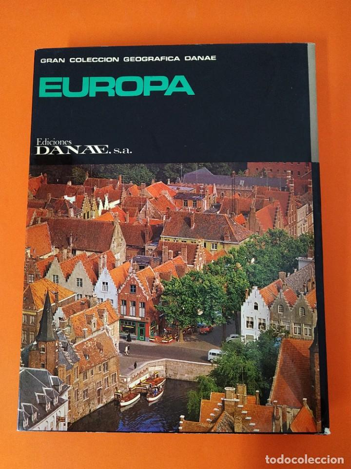 Enciclopedias de segunda mano: ENCICLOPEDIA EUROPA - COLECCION COMPLETA (2 TOMOS) - EDICIONES DANAE - AÑO 1979 ...L1660 - Foto 7 - 212757260