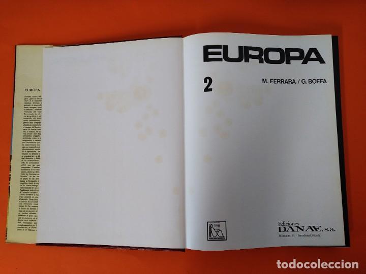 Enciclopedias de segunda mano: ENCICLOPEDIA EUROPA - COLECCION COMPLETA (2 TOMOS) - EDICIONES DANAE - AÑO 1979 ...L1660 - Foto 9 - 212757260