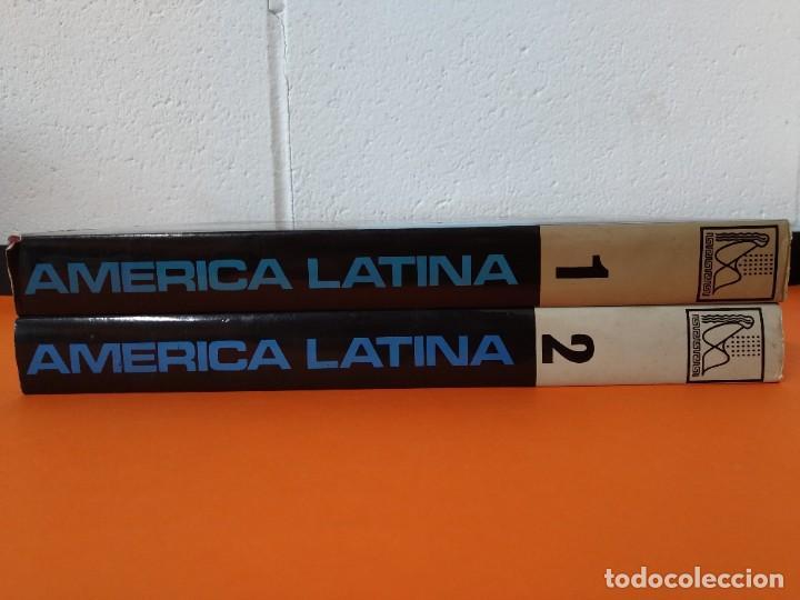 ENCICLOPEDIA AMERICA LATINA - COLECCION COMPLETA (2 TOMOS) - EDICIONES DANAE - AÑO 1981 ...L1661 (Libros de Segunda Mano - Enciclopedias)