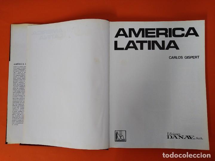 Enciclopedias de segunda mano: ENCICLOPEDIA AMERICA LATINA - COLECCION COMPLETA (2 TOMOS) - EDICIONES DANAE - AÑO 1981 ...L1661 - Foto 3 - 212757588