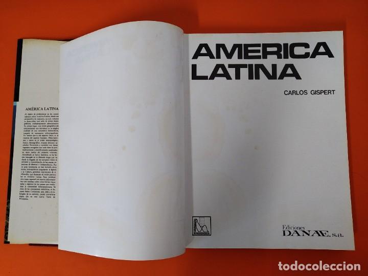 Enciclopedias de segunda mano: ENCICLOPEDIA AMERICA LATINA - COLECCION COMPLETA (2 TOMOS) - EDICIONES DANAE - AÑO 1981 ...L1661 - Foto 9 - 212757588