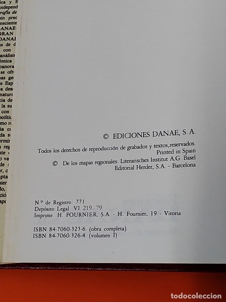 Enciclopedias de segunda mano: ENCICLOPEDIA ESPAÑA - COLECCION COMPLETA (2 TOMOS) - EDICIONES DANAE - AÑO 1979 ...L1662 - Foto 4 - 212758030