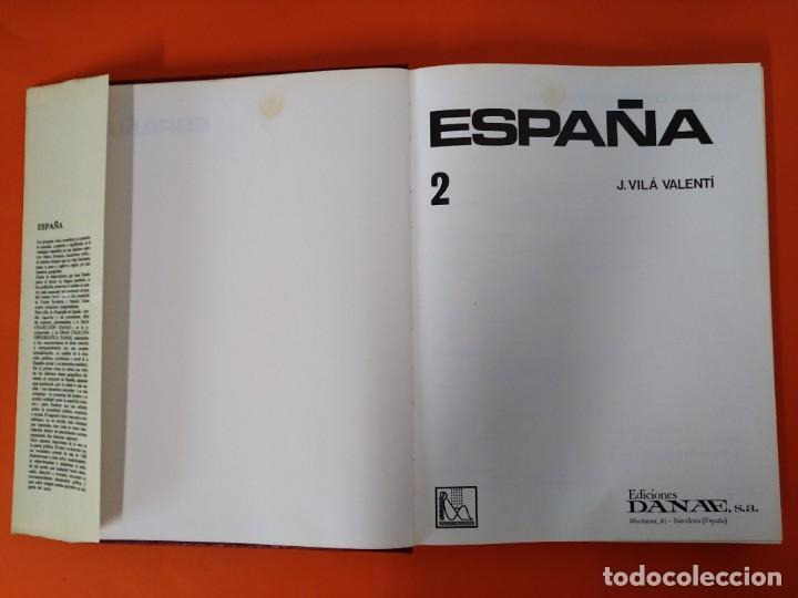 Enciclopedias de segunda mano: ENCICLOPEDIA ESPAÑA - COLECCION COMPLETA (2 TOMOS) - EDICIONES DANAE - AÑO 1979 ...L1662 - Foto 9 - 212758030