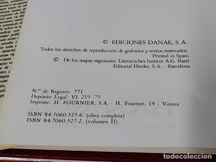 Enciclopedias de segunda mano: ENCICLOPEDIA ESPAÑA - COLECCION COMPLETA (2 TOMOS) - EDICIONES DANAE - AÑO 1979 ...L1662 - Foto 10 - 212758030
