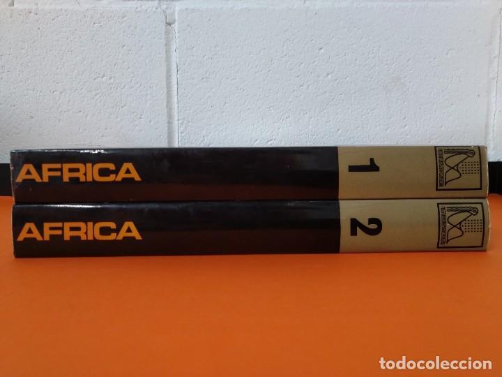 ENCICLOPEDIA AFRICA - COLECCION COMPLETA (2 TOMOS) - EDICIONES DANAE - AÑO 1979 ...L1663 (Libros de Segunda Mano - Enciclopedias)