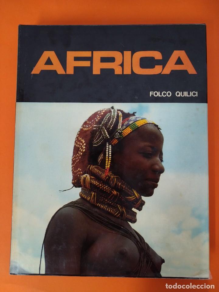 Enciclopedias de segunda mano: ENCICLOPEDIA AFRICA - COLECCION COMPLETA (2 TOMOS) - EDICIONES DANAE - AÑO 1979 ...L1663 - Foto 2 - 212758513