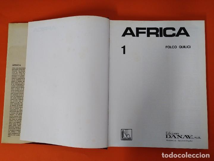 Enciclopedias de segunda mano: ENCICLOPEDIA AFRICA - COLECCION COMPLETA (2 TOMOS) - EDICIONES DANAE - AÑO 1979 ...L1663 - Foto 3 - 212758513