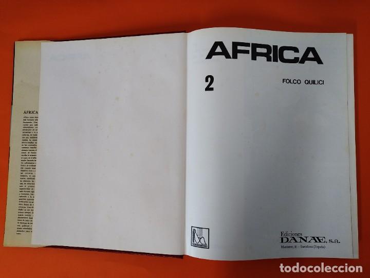 Enciclopedias de segunda mano: ENCICLOPEDIA AFRICA - COLECCION COMPLETA (2 TOMOS) - EDICIONES DANAE - AÑO 1979 ...L1663 - Foto 9 - 212758513