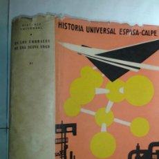 Enciclopedias de segunda mano: HISTORIA UNIVERSAL XI EN LOS UMBRALES DE UNA NUEVA EDAD 1968 JOSÉ MARÍA JOVER 1ª ED. ESPASA-CALPE. Lote 212900557