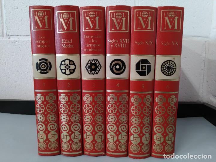 ENCICLOPEDIA NUEVA HISTORIA UNIVERSAL - COMPLETA (6 TOMOS) - EDITORIAL MARIN - AÑO 1968 ... L1723 (Libros de Segunda Mano - Enciclopedias)