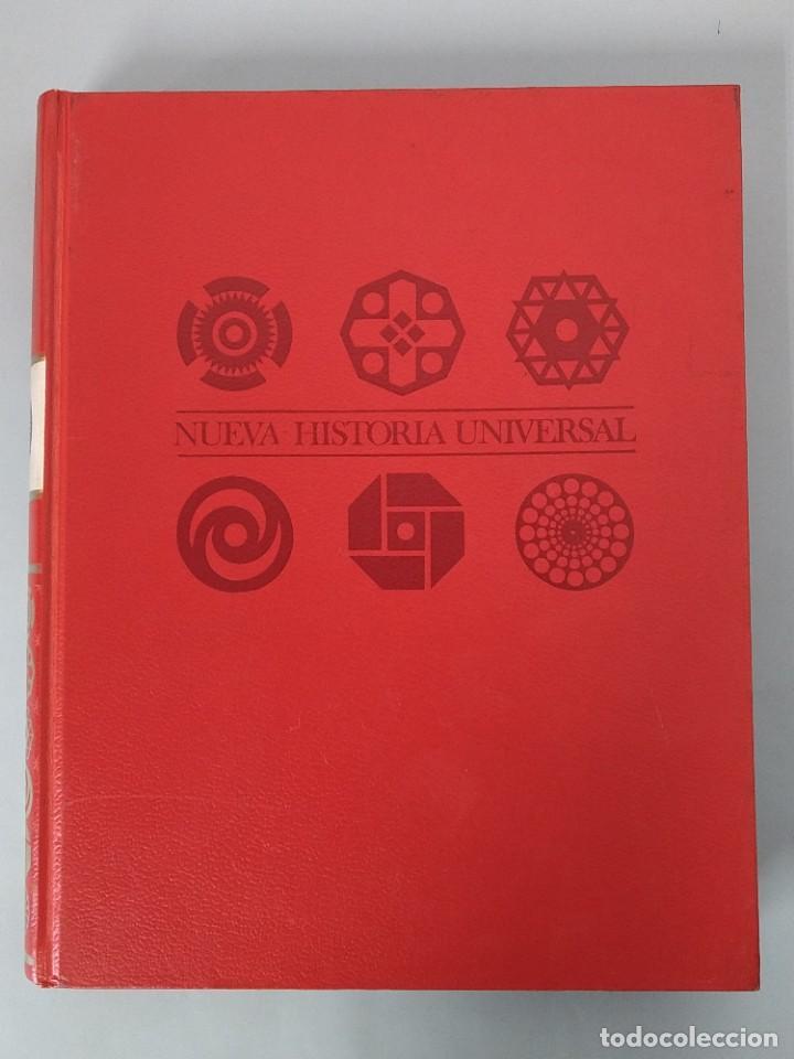 Enciclopedias de segunda mano: ENCICLOPEDIA NUEVA HISTORIA UNIVERSAL - COMPLETA (6 TOMOS) - EDITORIAL MARIN - AÑO 1968 ... L1723 - Foto 2 - 213227877