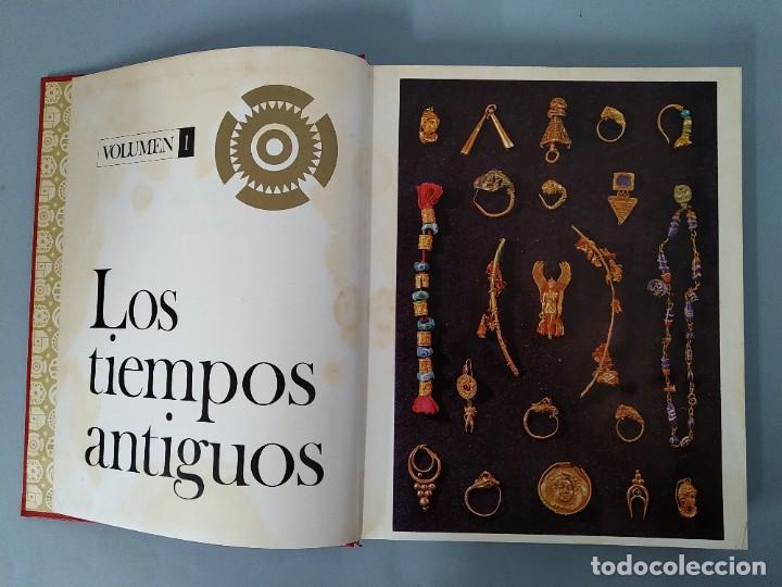 Enciclopedias de segunda mano: ENCICLOPEDIA NUEVA HISTORIA UNIVERSAL - COMPLETA (6 TOMOS) - EDITORIAL MARIN - AÑO 1968 ... L1723 - Foto 3 - 213227877