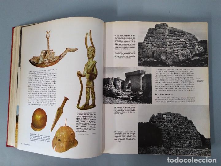 Enciclopedias de segunda mano: ENCICLOPEDIA NUEVA HISTORIA UNIVERSAL - COMPLETA (6 TOMOS) - EDITORIAL MARIN - AÑO 1968 ... L1723 - Foto 4 - 213227877