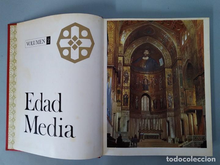 Enciclopedias de segunda mano: ENCICLOPEDIA NUEVA HISTORIA UNIVERSAL - COMPLETA (6 TOMOS) - EDITORIAL MARIN - AÑO 1968 ... L1723 - Foto 8 - 213227877
