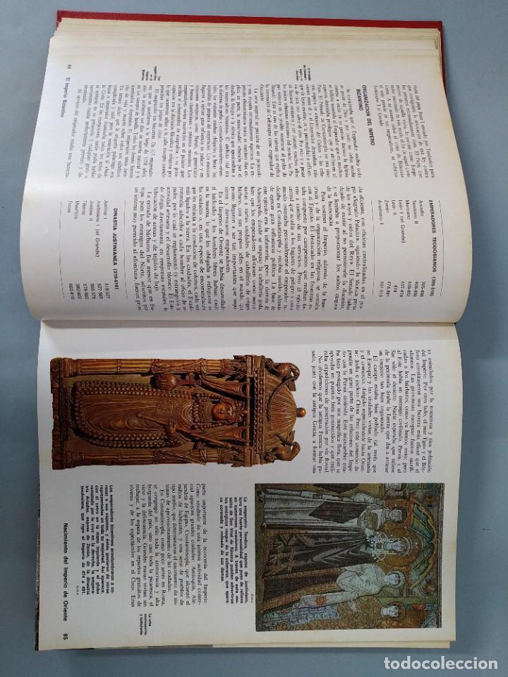 Enciclopedias de segunda mano: ENCICLOPEDIA NUEVA HISTORIA UNIVERSAL - COMPLETA (6 TOMOS) - EDITORIAL MARIN - AÑO 1968 ... L1723 - Foto 9 - 213227877