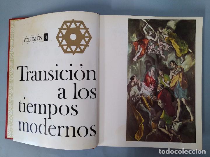 Enciclopedias de segunda mano: ENCICLOPEDIA NUEVA HISTORIA UNIVERSAL - COMPLETA (6 TOMOS) - EDITORIAL MARIN - AÑO 1968 ... L1723 - Foto 13 - 213227877