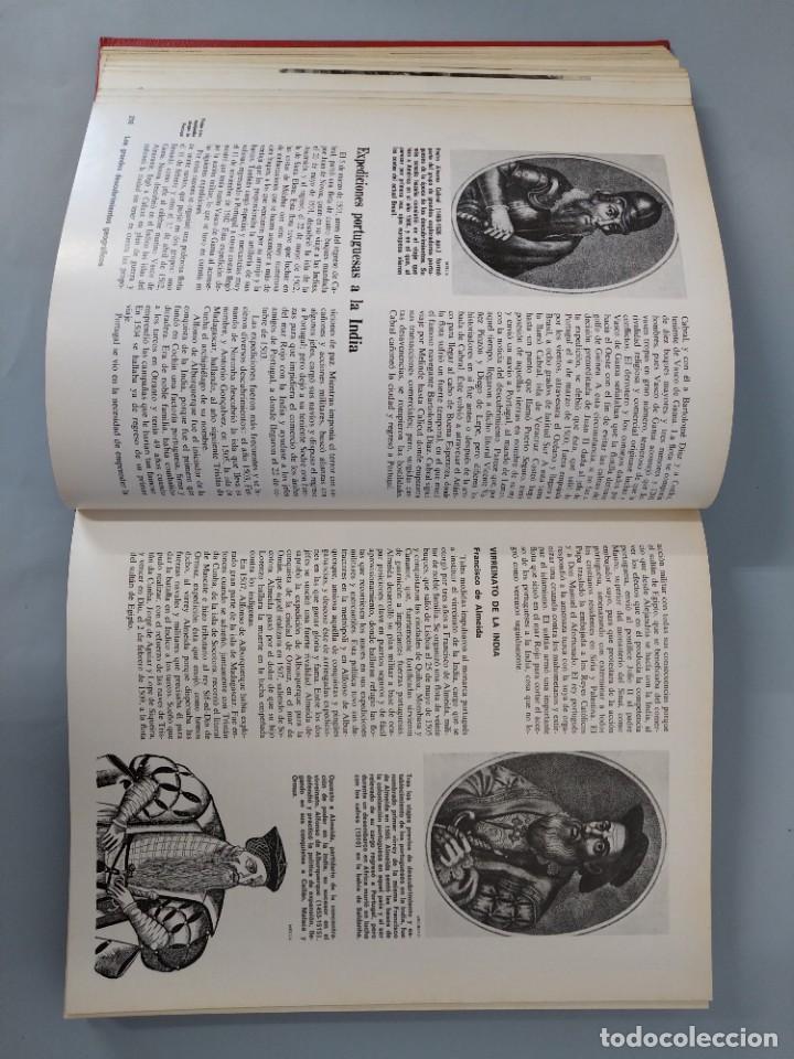 Enciclopedias de segunda mano: ENCICLOPEDIA NUEVA HISTORIA UNIVERSAL - COMPLETA (6 TOMOS) - EDITORIAL MARIN - AÑO 1968 ... L1723 - Foto 15 - 213227877