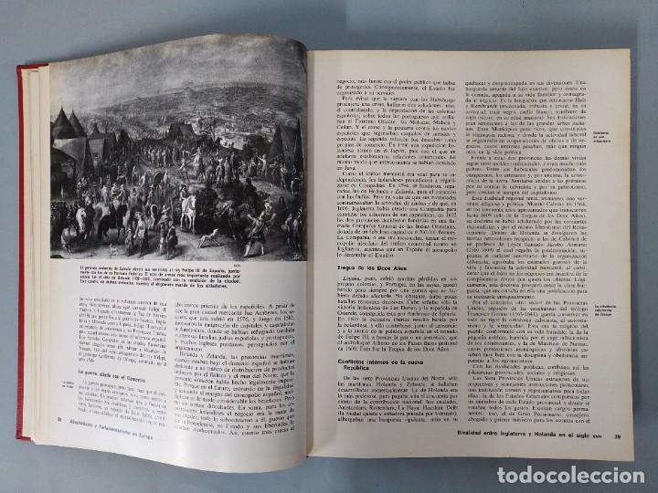 Enciclopedias de segunda mano: ENCICLOPEDIA NUEVA HISTORIA UNIVERSAL - COMPLETA (6 TOMOS) - EDITORIAL MARIN - AÑO 1968 ... L1723 - Foto 19 - 213227877