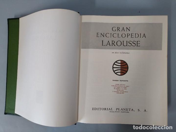 Enciclopedias de segunda mano: GRAN ENCICLOPEDIA LAROUSSE, COMPLETA (10 TOMOS + 1 SUPLEMENTO ) EDITORIAL PLANETA, AÑO 1977 ...L1725 - Foto 13 - 213229978