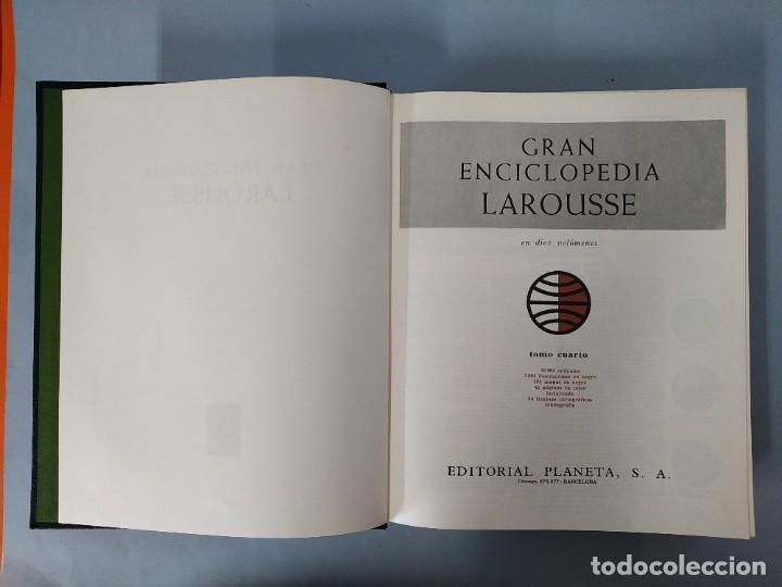 Enciclopedias de segunda mano: GRAN ENCICLOPEDIA LAROUSSE, COMPLETA (10 TOMOS + 1 SUPLEMENTO ) EDITORIAL PLANETA, AÑO 1977 ...L1725 - Foto 18 - 213229978