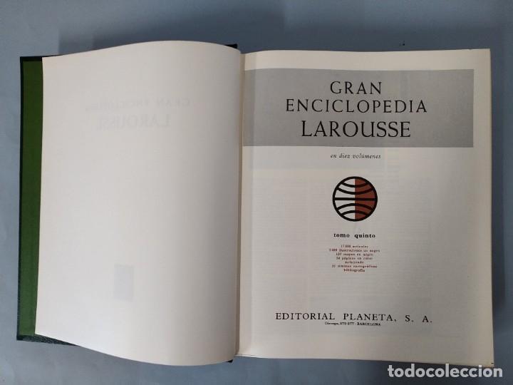 Enciclopedias de segunda mano: GRAN ENCICLOPEDIA LAROUSSE, COMPLETA (10 TOMOS + 1 SUPLEMENTO ) EDITORIAL PLANETA, AÑO 1977 ...L1725 - Foto 23 - 213229978