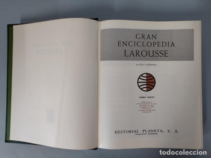 Enciclopedias de segunda mano: GRAN ENCICLOPEDIA LAROUSSE, COMPLETA (10 TOMOS + 1 SUPLEMENTO ) EDITORIAL PLANETA, AÑO 1977 ...L1725 - Foto 28 - 213229978