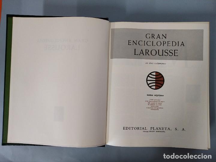 Enciclopedias de segunda mano: GRAN ENCICLOPEDIA LAROUSSE, COMPLETA (10 TOMOS + 1 SUPLEMENTO ) EDITORIAL PLANETA, AÑO 1977 ...L1725 - Foto 33 - 213229978