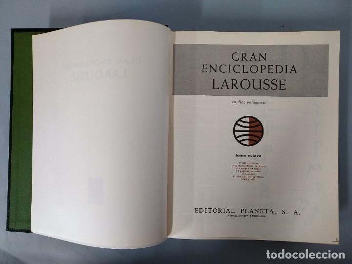 Enciclopedias de segunda mano: GRAN ENCICLOPEDIA LAROUSSE, COMPLETA (10 TOMOS + 1 SUPLEMENTO ) EDITORIAL PLANETA, AÑO 1977 ...L1725 - Foto 38 - 213229978